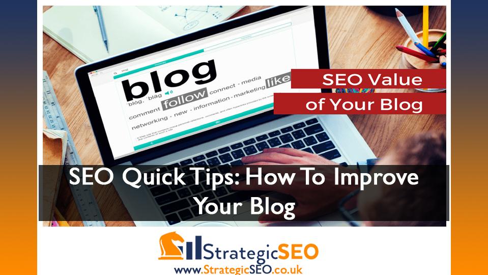 SEO content blog quick tips
